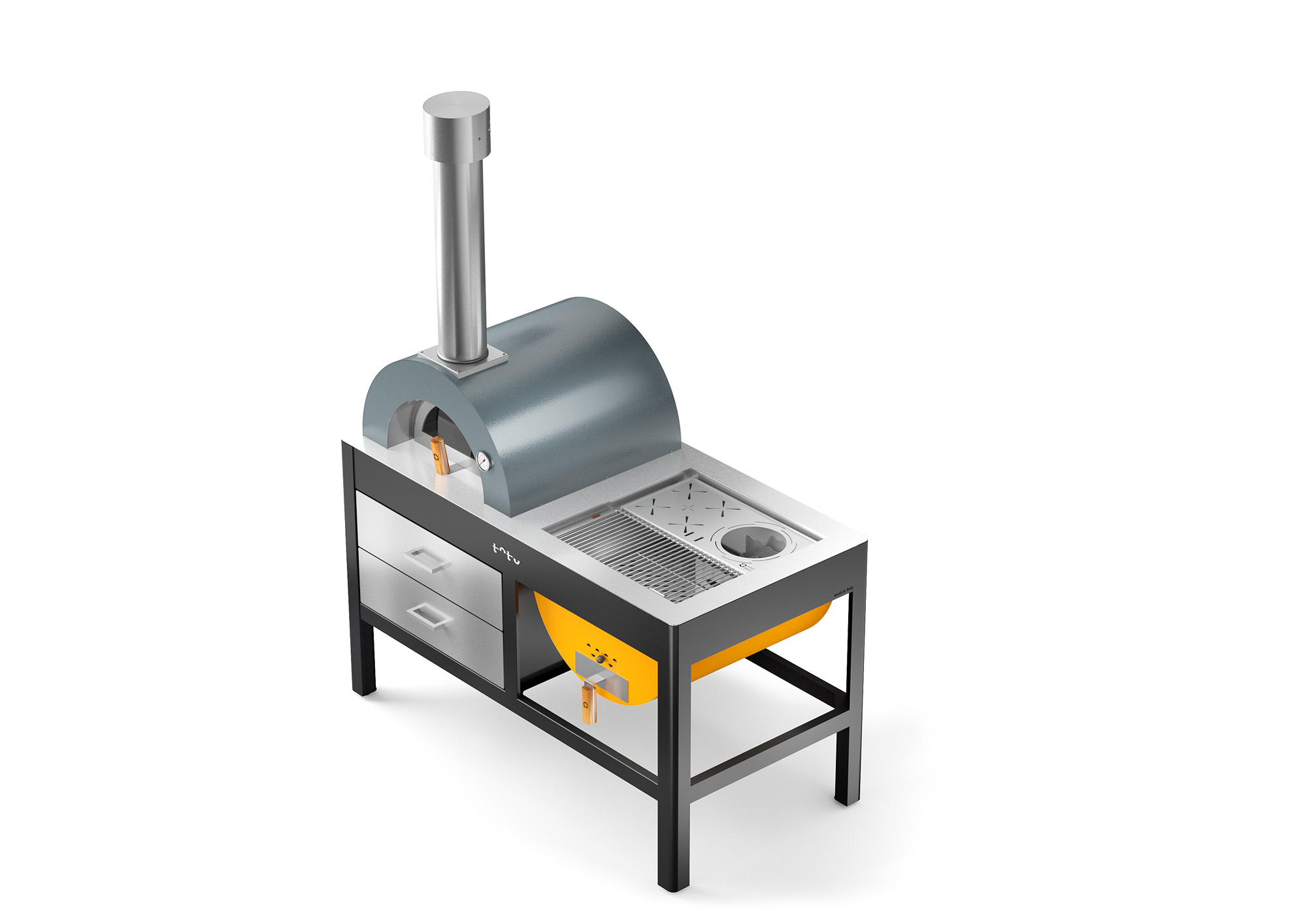 Alfa Pizza Toto wood-fired oven and grill – Great Outdoors BBQ Co